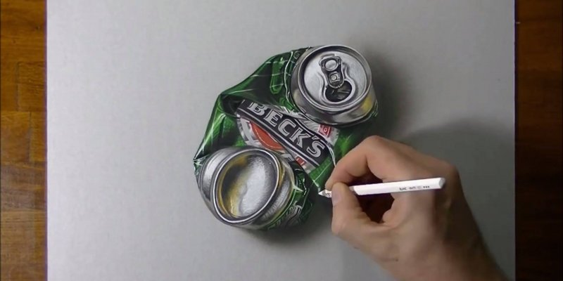 Arte de desenhar em 3D, simplesmente fantastico, vale a pena conferir!!!