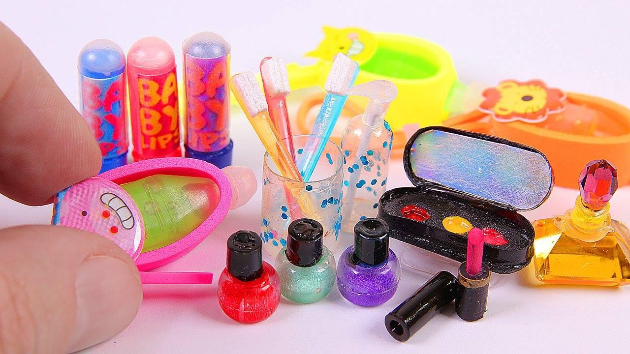 4 Ideias Para Fazer Produtos Para Barbie Em Miniaturas Confira