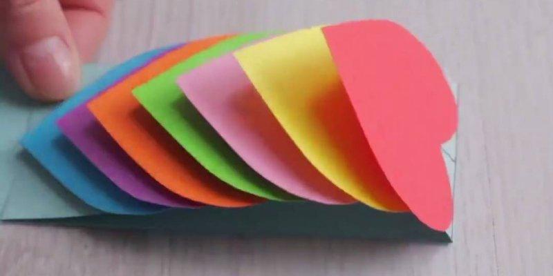 Cartão para dia dos namorados, uma ideia bem legal e diferente!