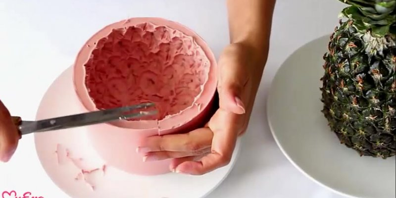Como fazer vasinhos de plantas com formato de abacaxi, muito legal!