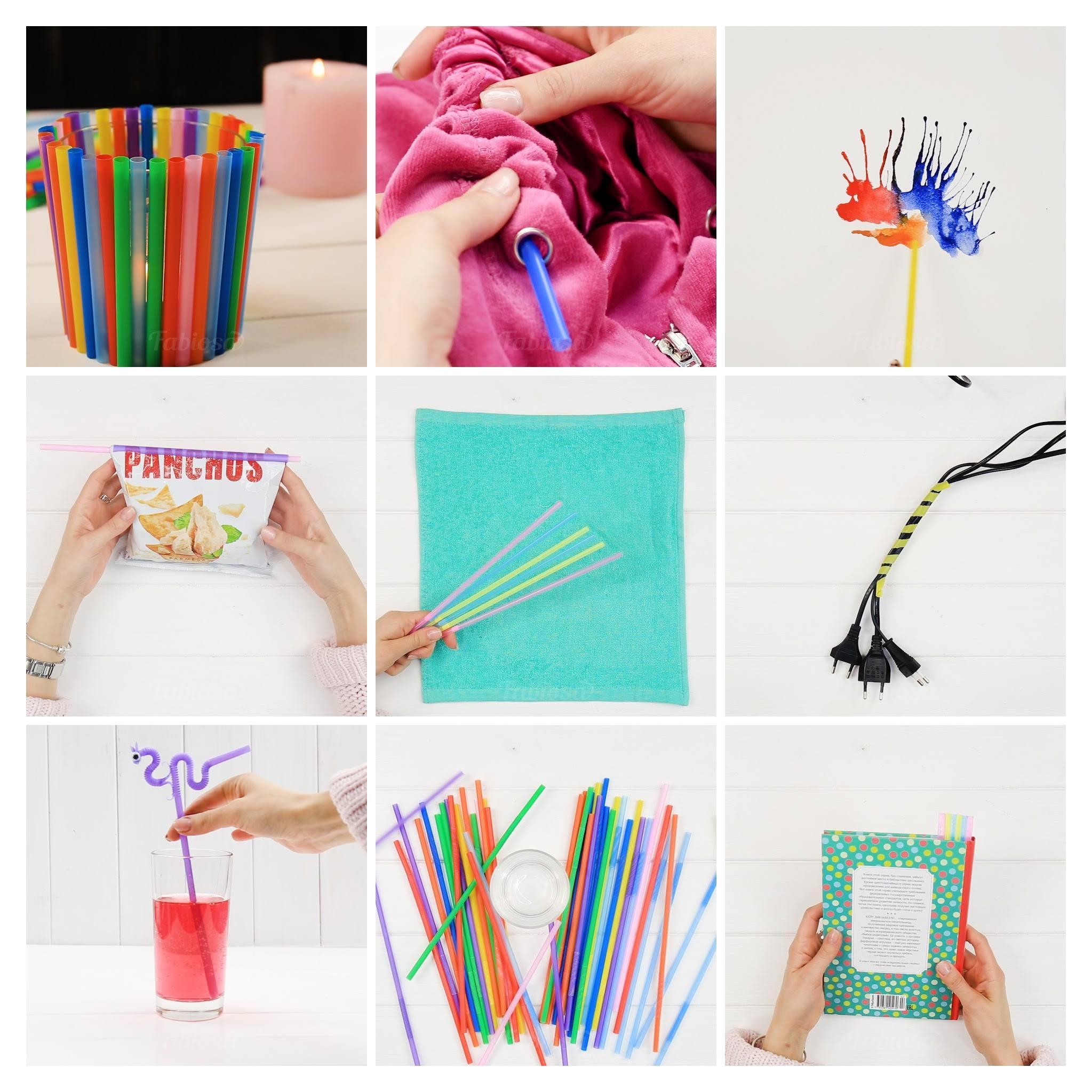 Artesanato Folclorico Do Sul ~ Ideias para fazer com canudos de plástico, dicas incríveis!