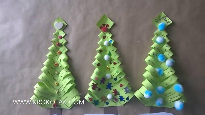 Mini árvore De Natal Fácil De Fazer Mais Um Artesanato Simples E