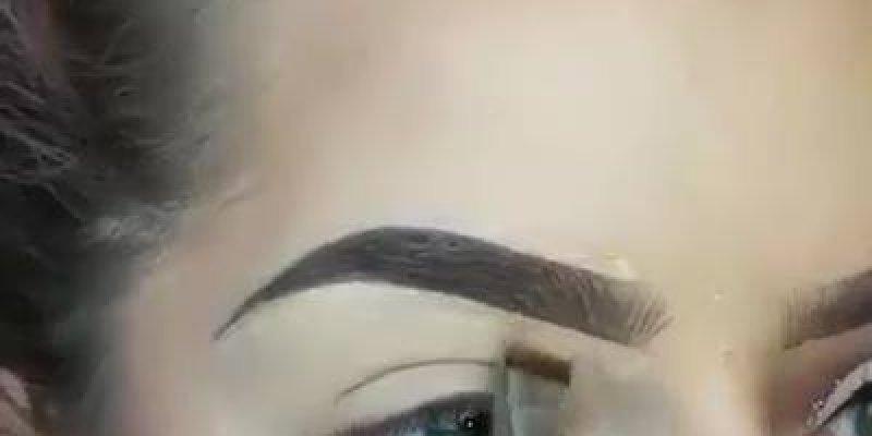 Inspiração de correção de sobrancelhas com make, vale a pena conferir!!!