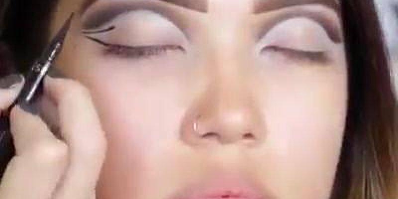 Top Maquiagem perfeita para olhos pequenos e caídos, resultado incrível! UV23