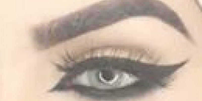 Olhos com delineado preto para quem ama olhos marcantes, confira!!!