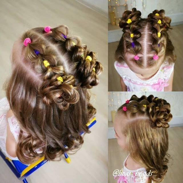 Penteado Infantil Para Meninas Irem A Escola Veja Que