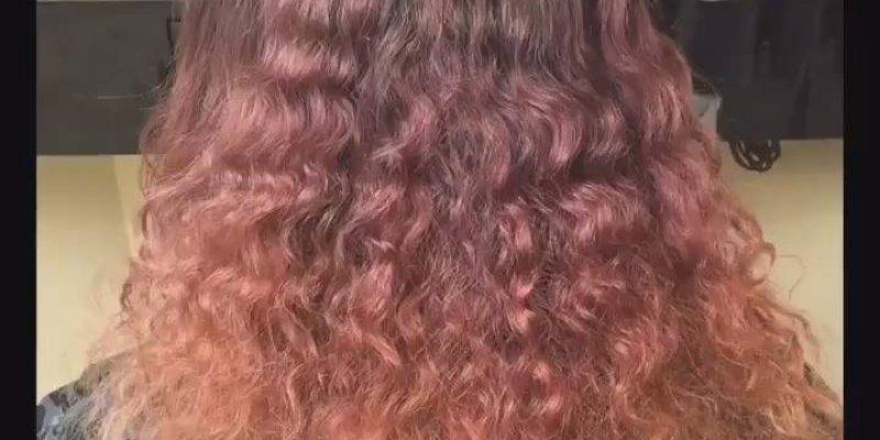 Que cabelo mais lindo! Perfeito! Veja o antes e depois, incrível!!!