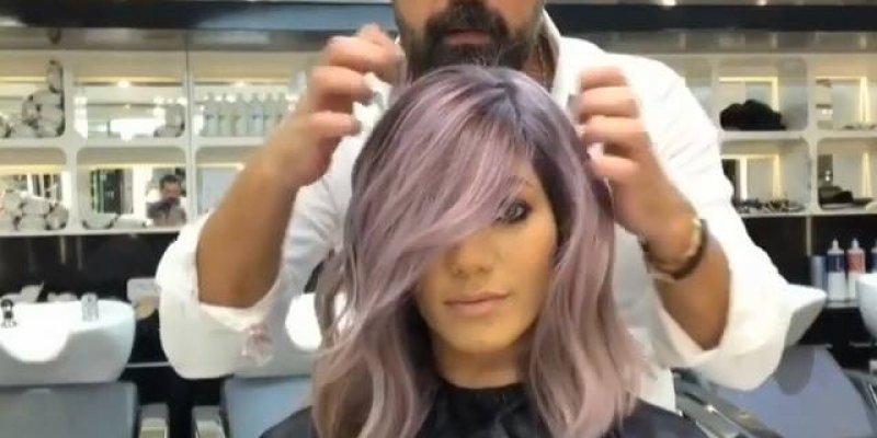 Transformação de cabelos castanhos para loiro, e lindo corte!!!