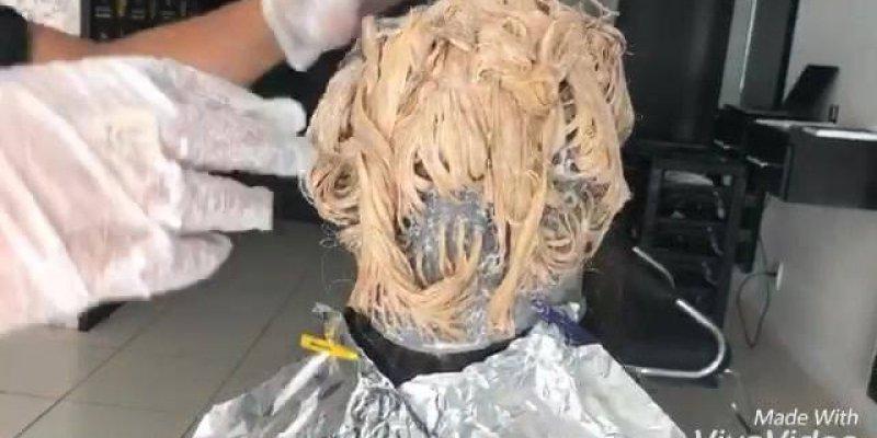 Tutorial de transformação lindíssima de cabelo, vale a pena conferir!!!