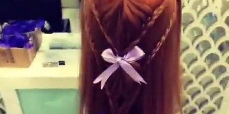 Vídeo com tutorial lindo de penteado, vale a pena conferir!!!
