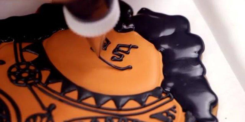 Favoritos Biscoitos decorados com tema de Moana, o novo desenho da Disney!!! EI36