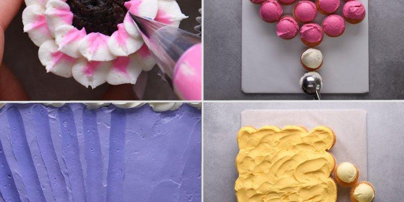 Criatividade com Cupcakes, o difícil é escolher qual mais bonito!