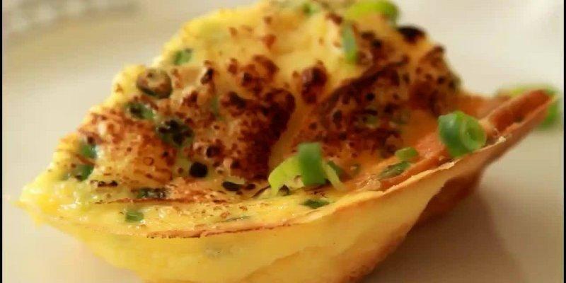 Receita de omelete de forno delicioso e super fácil de fazer!!!