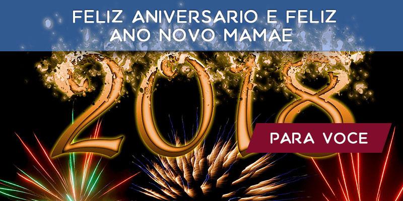 Vídeo Com Mensagem De Feliz Aniversário E Feliz Ano Novo