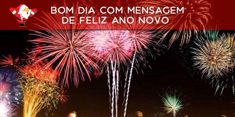 Vídeo De Bom Dia Com Mensagem De Feliz Ano Novo A Amigos